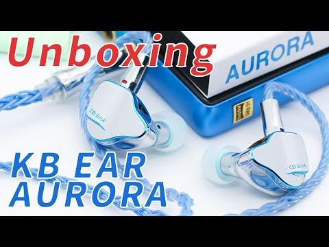 KBEAR Aurora Single Dynamic In-Ear Monitor Uboxing!