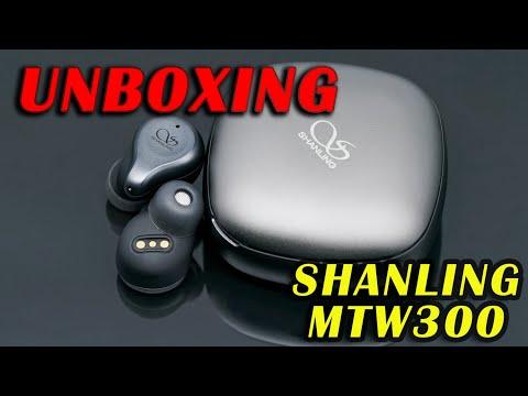 SHANLING MTW300 True Wireless HiFi Earphone Unboxing
