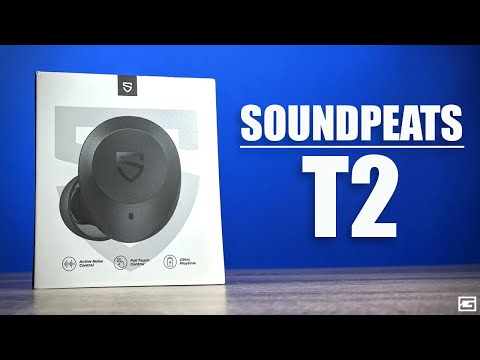 SoundPEATS T2 : Excellent Noise Cancelling On A Budget!