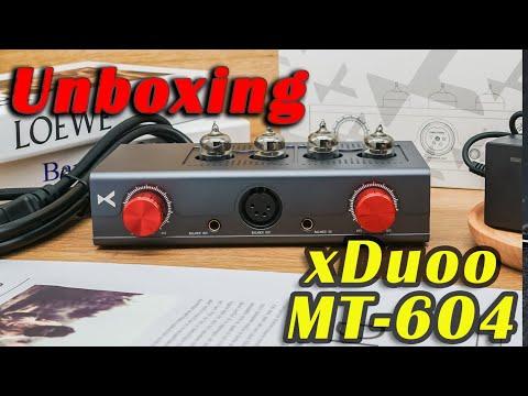 xDuoo MT-604 Headphone Amplifier Unboxing