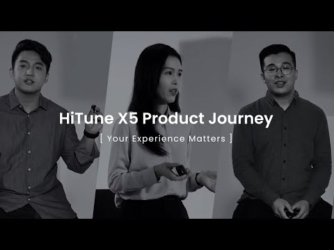 """UGREEN HiTune X5   Product Story Video """"You Experience Matters"""""""