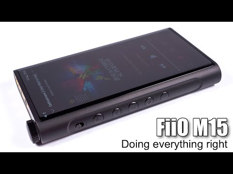 Detailed review of FiiO M15 digital audio player