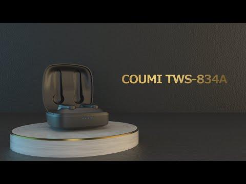 【2021年新品発売】COUMI 完全ワイヤレスイヤホン TWS-834A