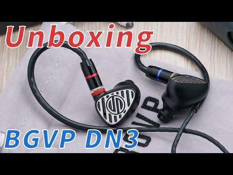 BGVP DN3 Hybrid Drivers In-Ear Monitors Unboxing!!