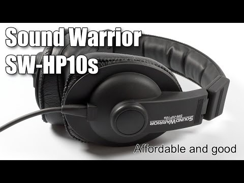 Review of Sound Warrior SW-HP10s
