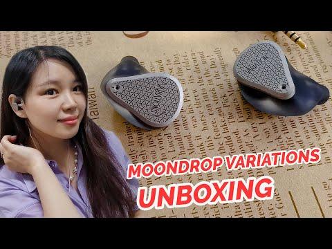 Moondrop Variations Unboxing - New Moondrop Tribrid IEM