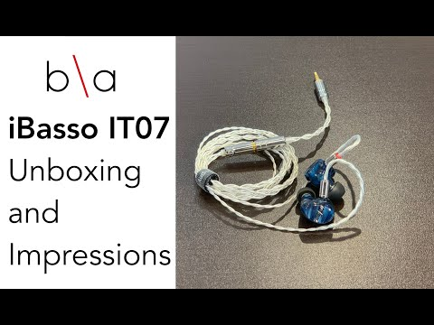iBasso IT07 Unboxing and Impressions