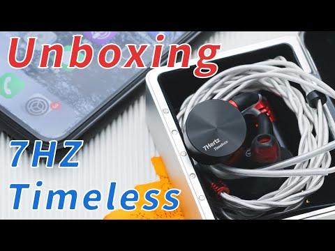 7HZ Timeless 14.2mm Planar In-ear Earphone Unboxing!